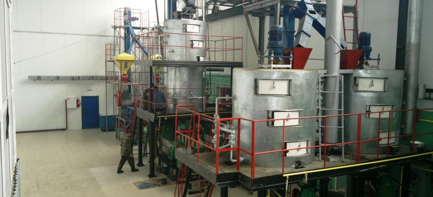 Preparing the oilseeds for oil extraction